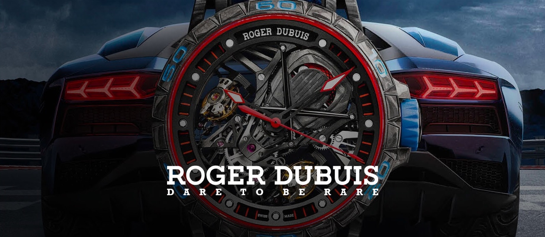ROOGER DUBUIS DARE TO BE RARE