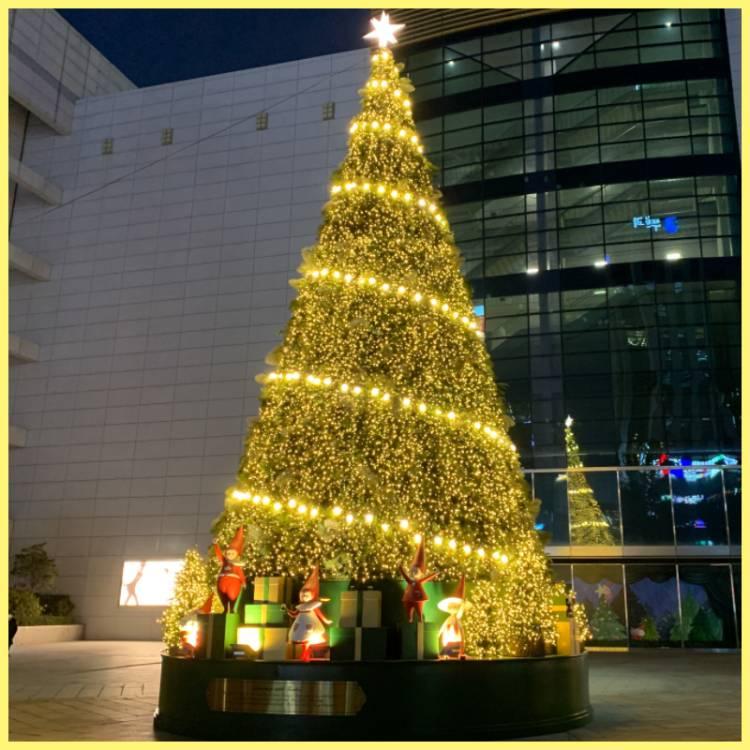 「크리스마스 대형 트리」 인증샷 이벤트♥