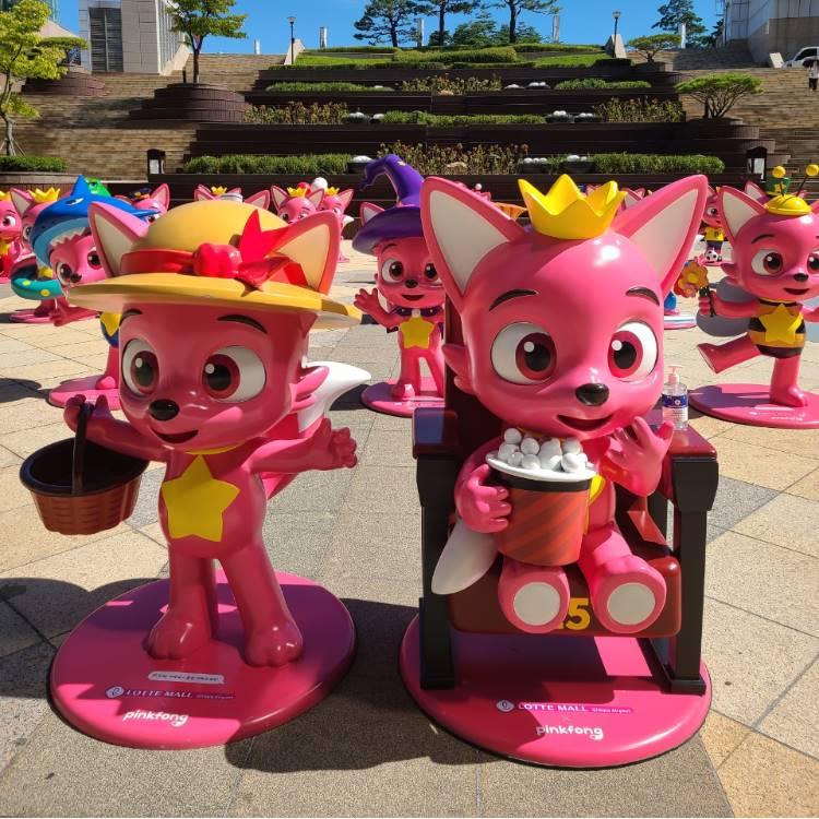 가을에 찾아온 핑크퐁 친구들을 만나요