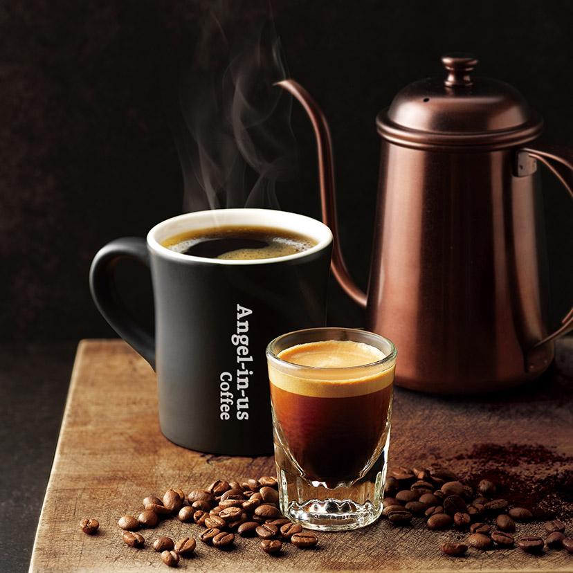 엔제리너스 커피R 전품목 50%
