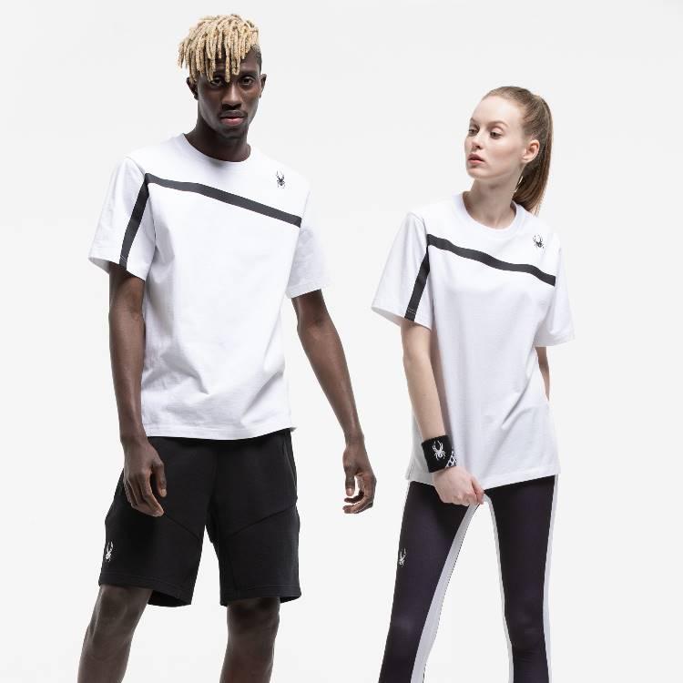 「스파이더」 남여 라이프스타일 여름 티셔츠