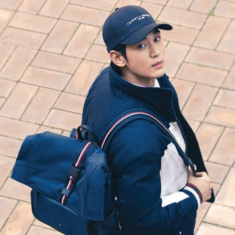 「타미힐피거」 김수현과 함께하는 가을 스타일링