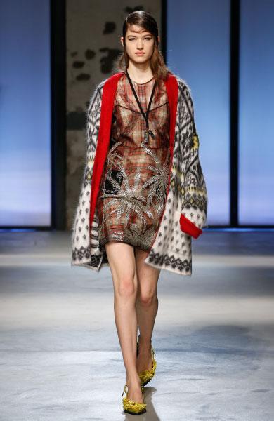 N˚21 세번째 패션쇼 제품, Model: Femke Huijzer