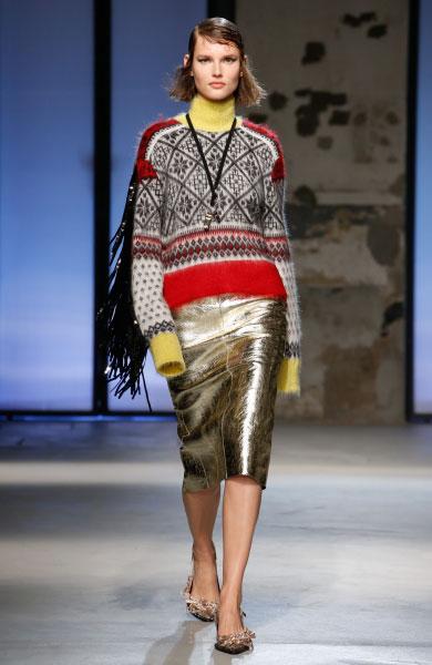 N˚21 네번째 패션쇼 제품, Model: Giedre Dukauskaite