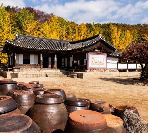 한국민속촌 첫번째 전경