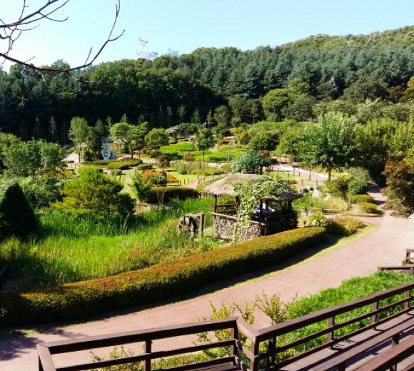 한택식물원 첫번째 전경