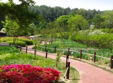한택식물원 세번째 전경