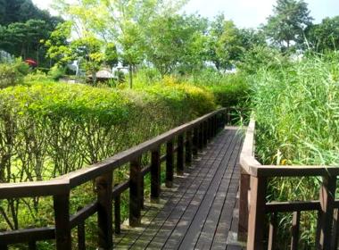 한택식물원 네번째 전경
