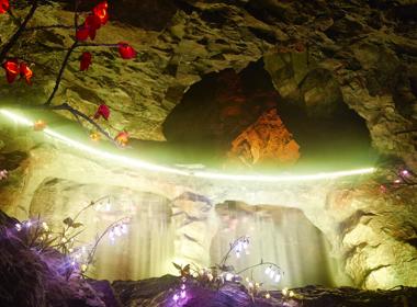 광명동굴 세번째 전경